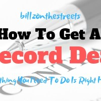 How to Get a Record Deal : 5 Things You Need to Do