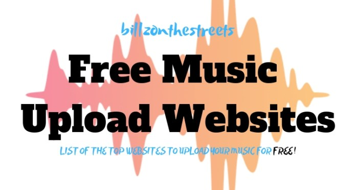 Free Music Upload Websites in Nigeria