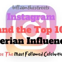 Most Followed Nigerian Celebrity on Instagram 2020