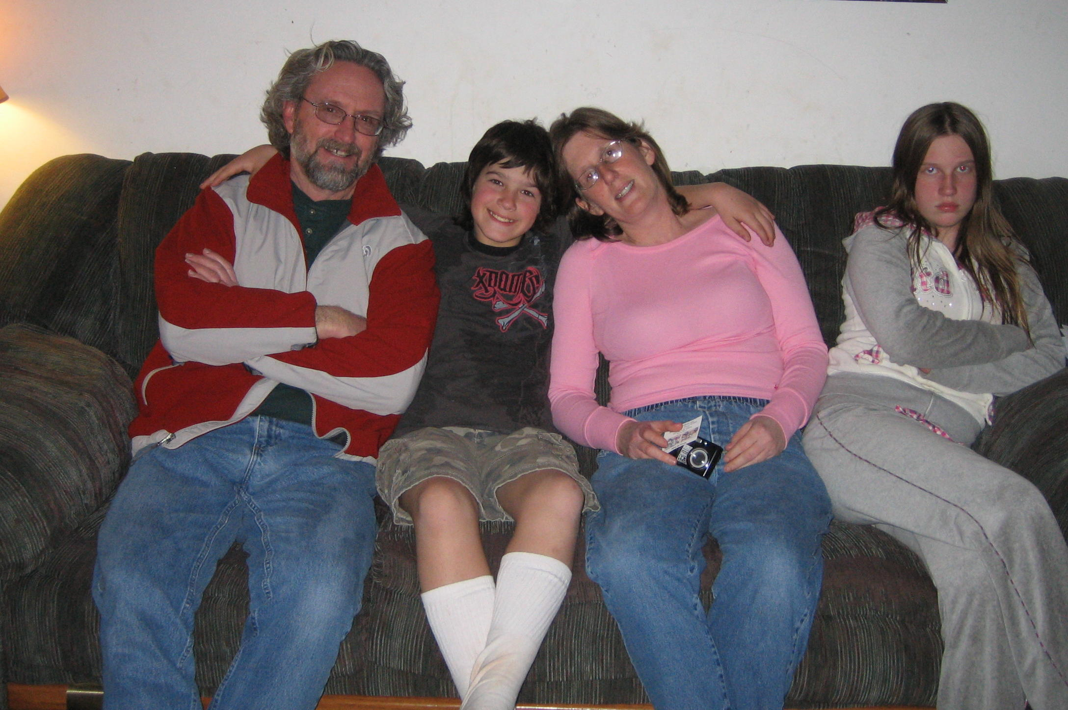 Cousin Connie and her family
