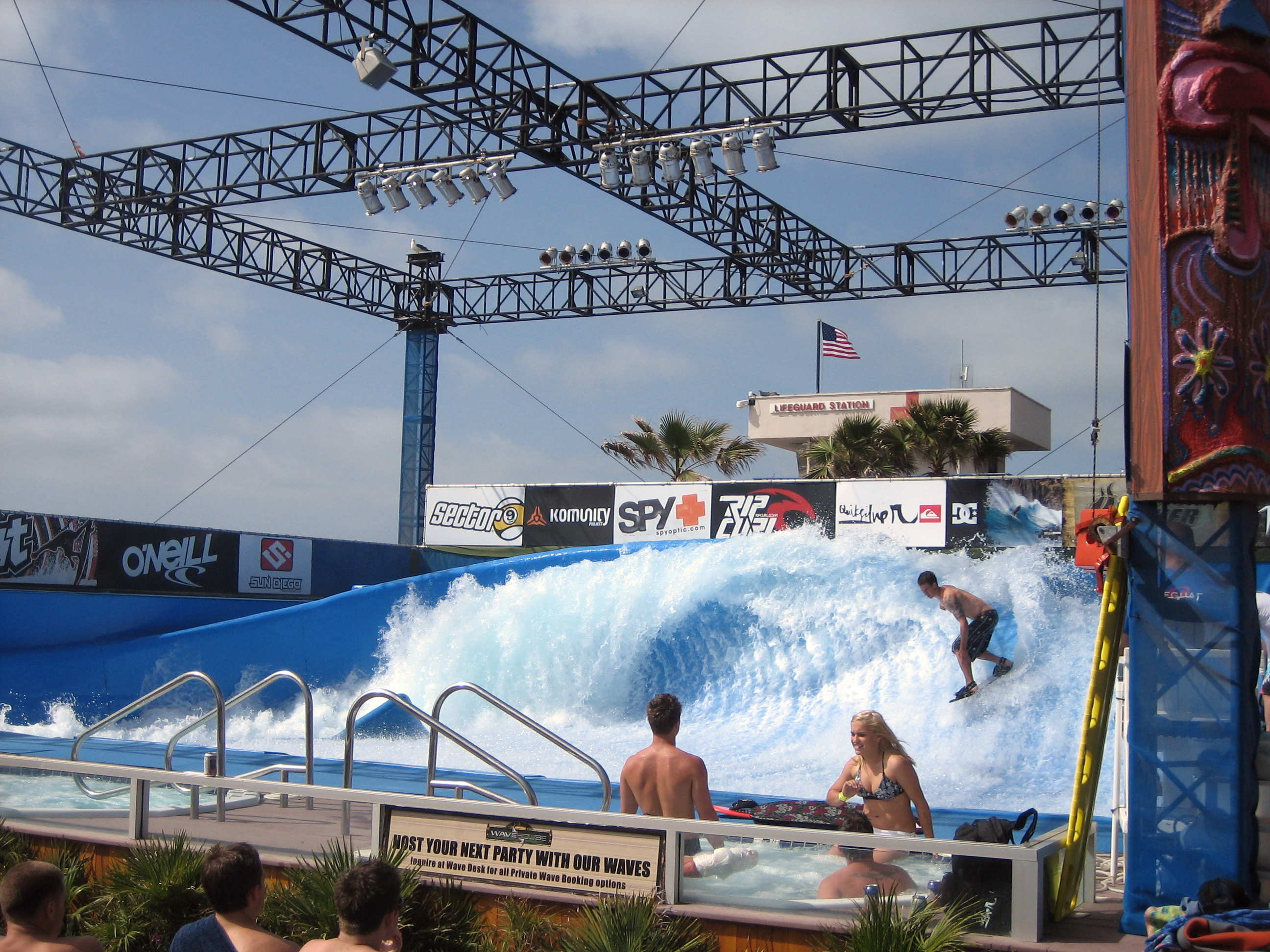 Mission Beach Wave Pool