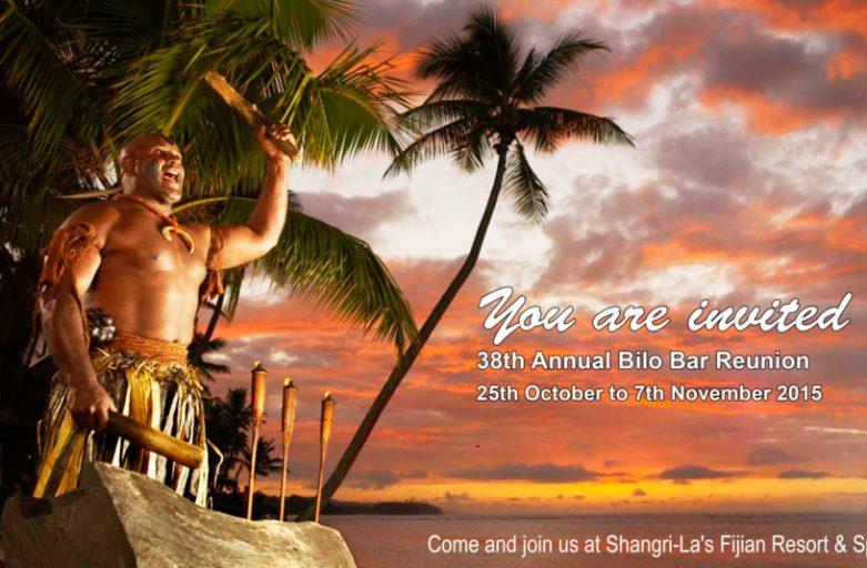 2015 Bilo Bar Reunion Invitation