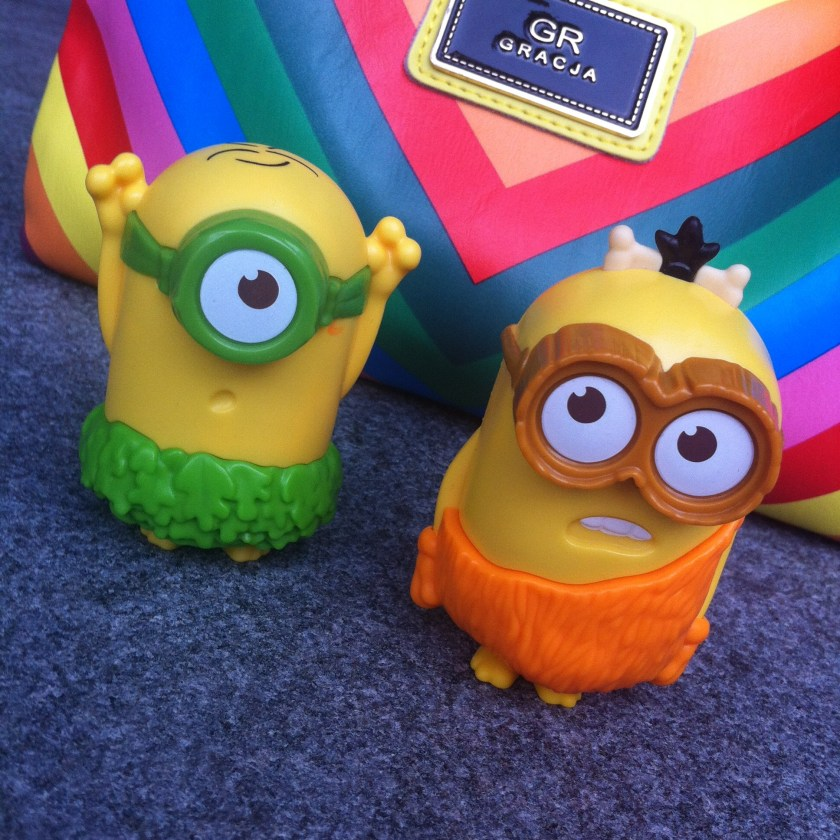These two watched it with us! Get them from McDonald with the happy meal :)