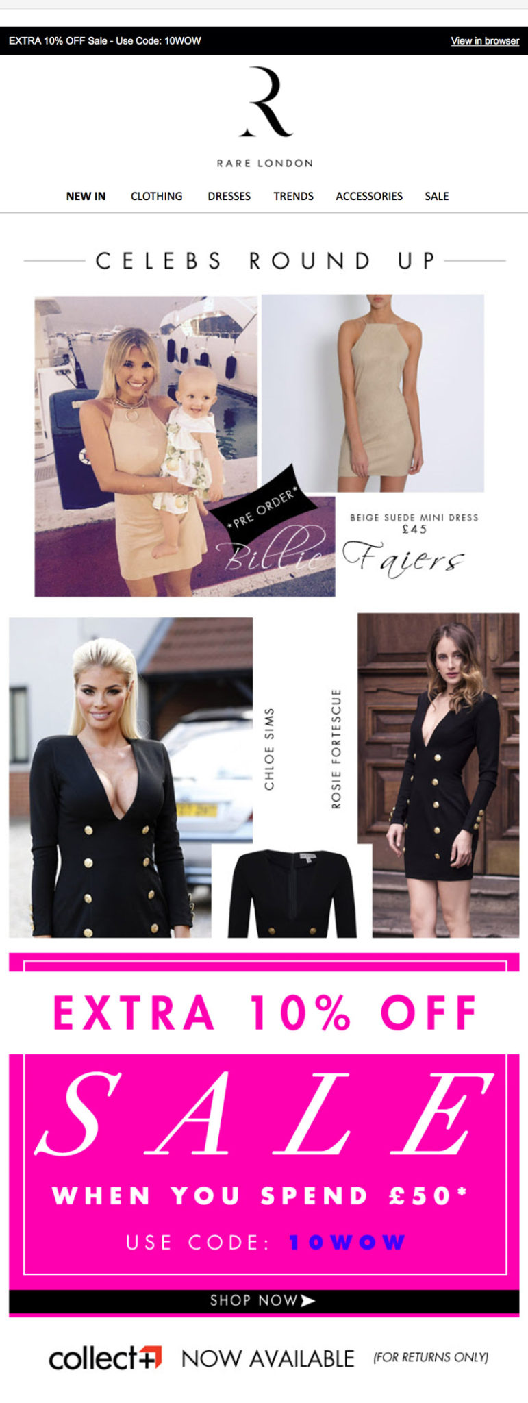 Rare London - Celebs style collection