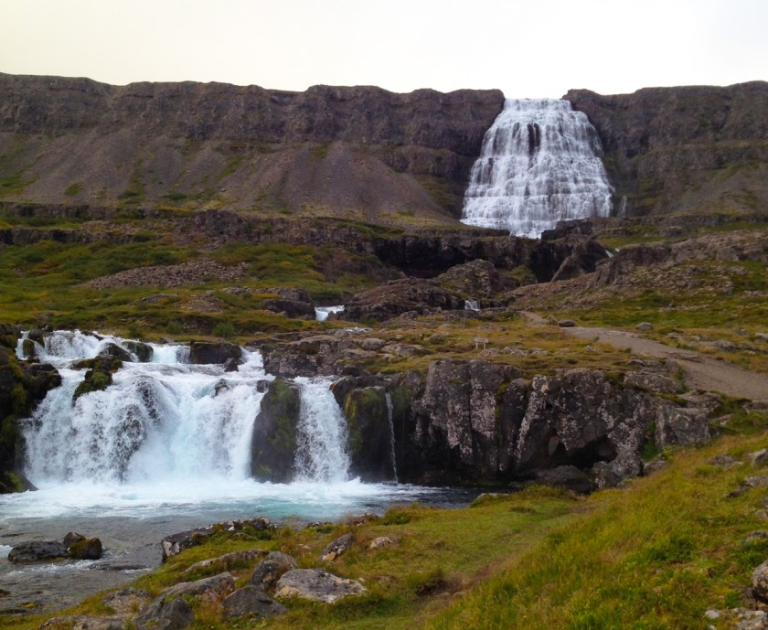 Dynjandi (Fjallfoss) - the biggest waterfall in the West Fjords.