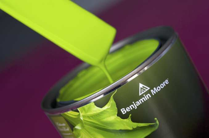 Bright Green Benjamin Moore Paint