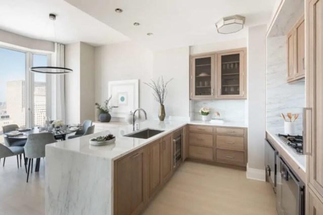 Rift cut white oak kitchen