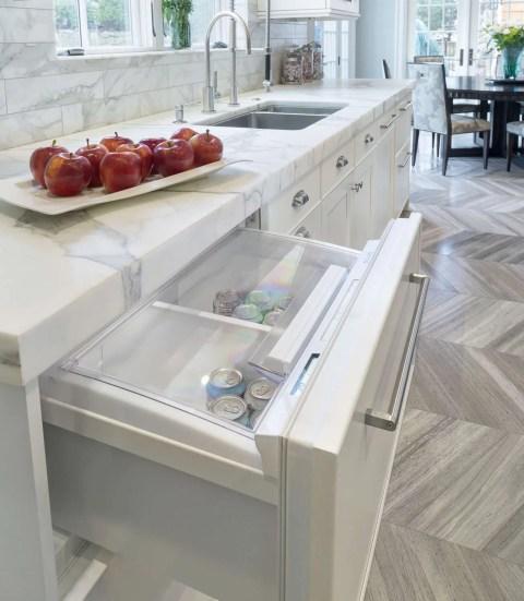 Refrigerator Drawer in Kitchen