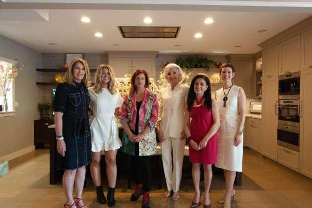 From L. to R.: Constance Hall; Alexandra Amirian; Lori Gizzarelli, Anne Joyce; Bana Choura; Kim A. Mitchell