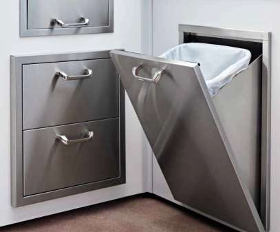 Outdoor Kitchen Pull-out Trash