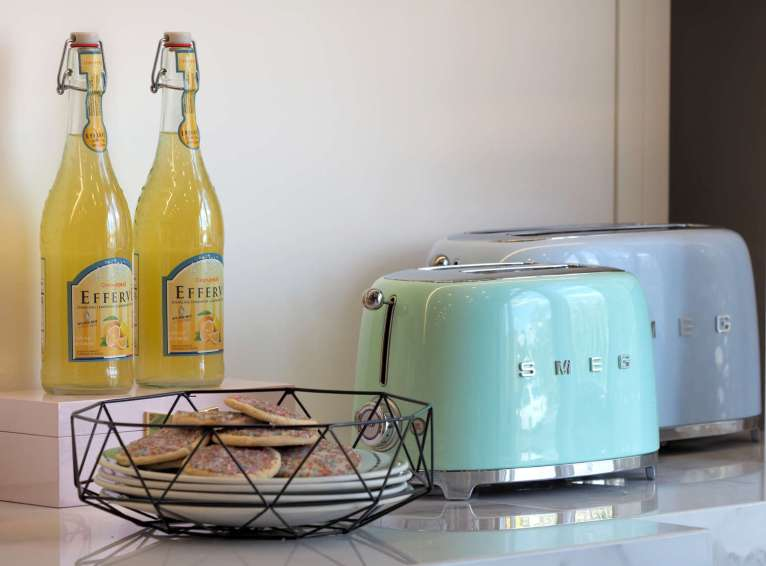 Pastel Toasters by Smeg