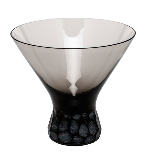 """""""Pebble"""" Crystal Glassware by Moser"""