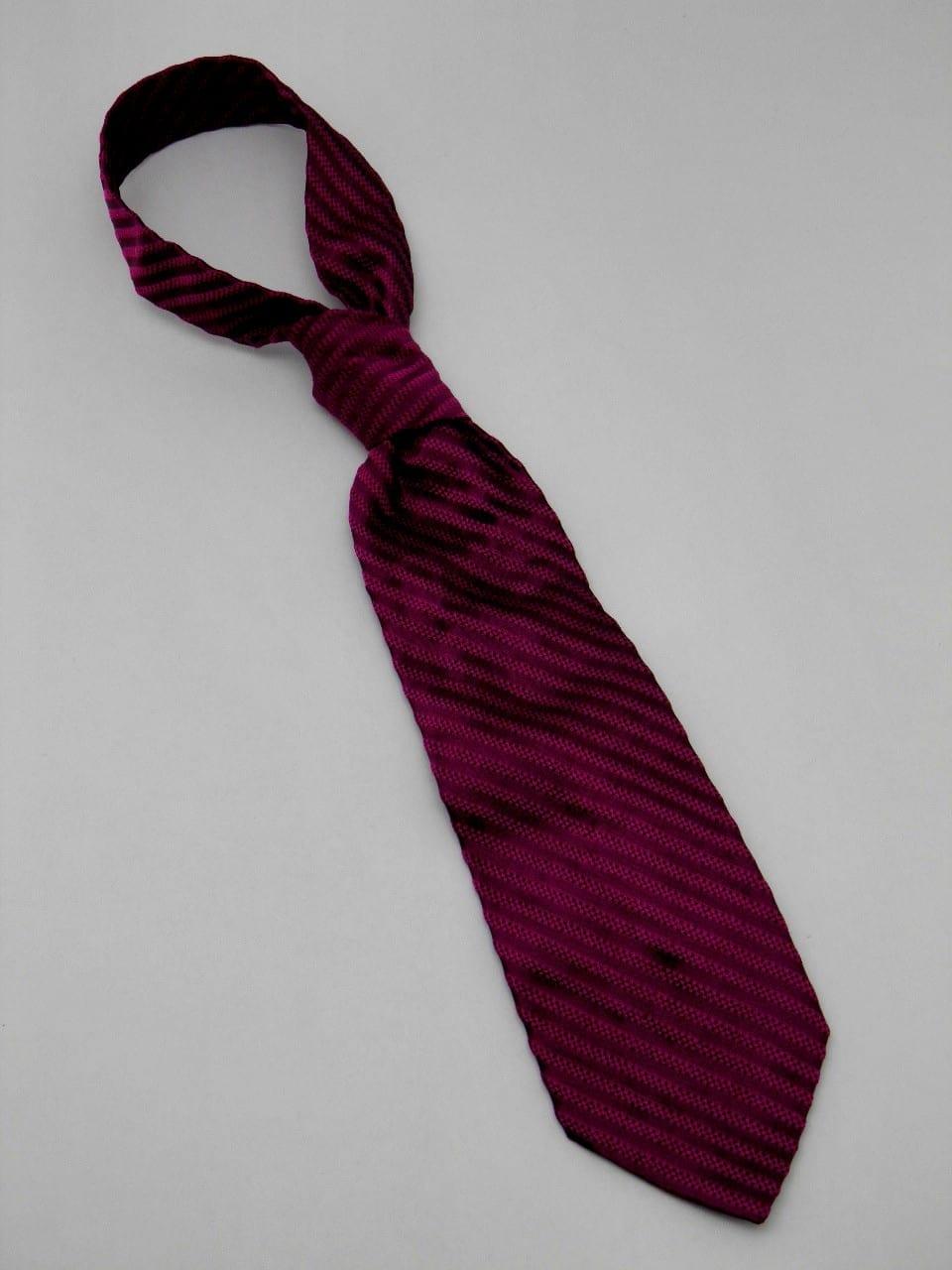 Cravate Cadre - Violet
