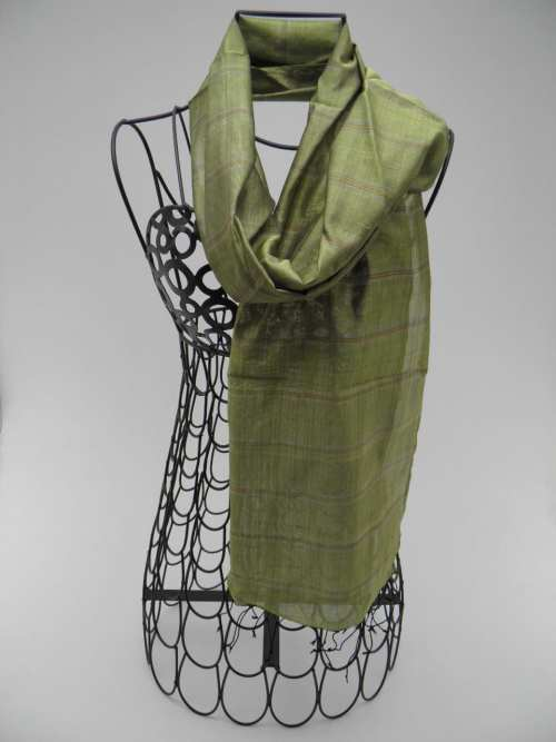 Fair Trade Scarf – Green Tea – Essential