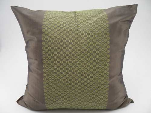 Chorebap Jasmine – Cushion Cover - Bronze / Anis - 45x45cm