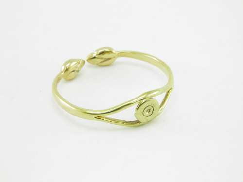 Bracelet Recycled – Bullet Rim And Lotus