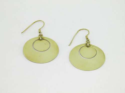 Earrings Cercle – Recycled Brass