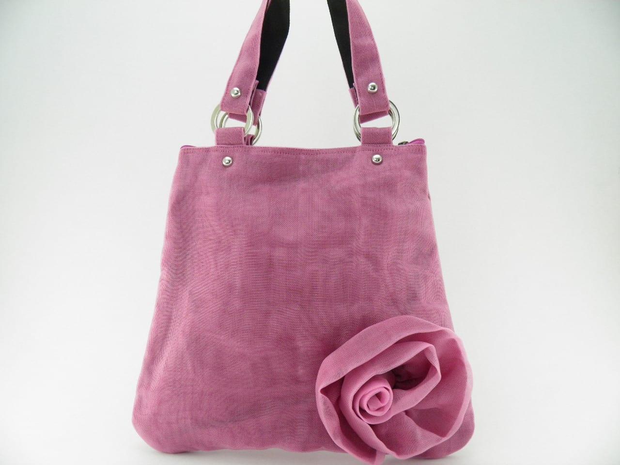 Le Fleuri - Cabas - Petit - Rose