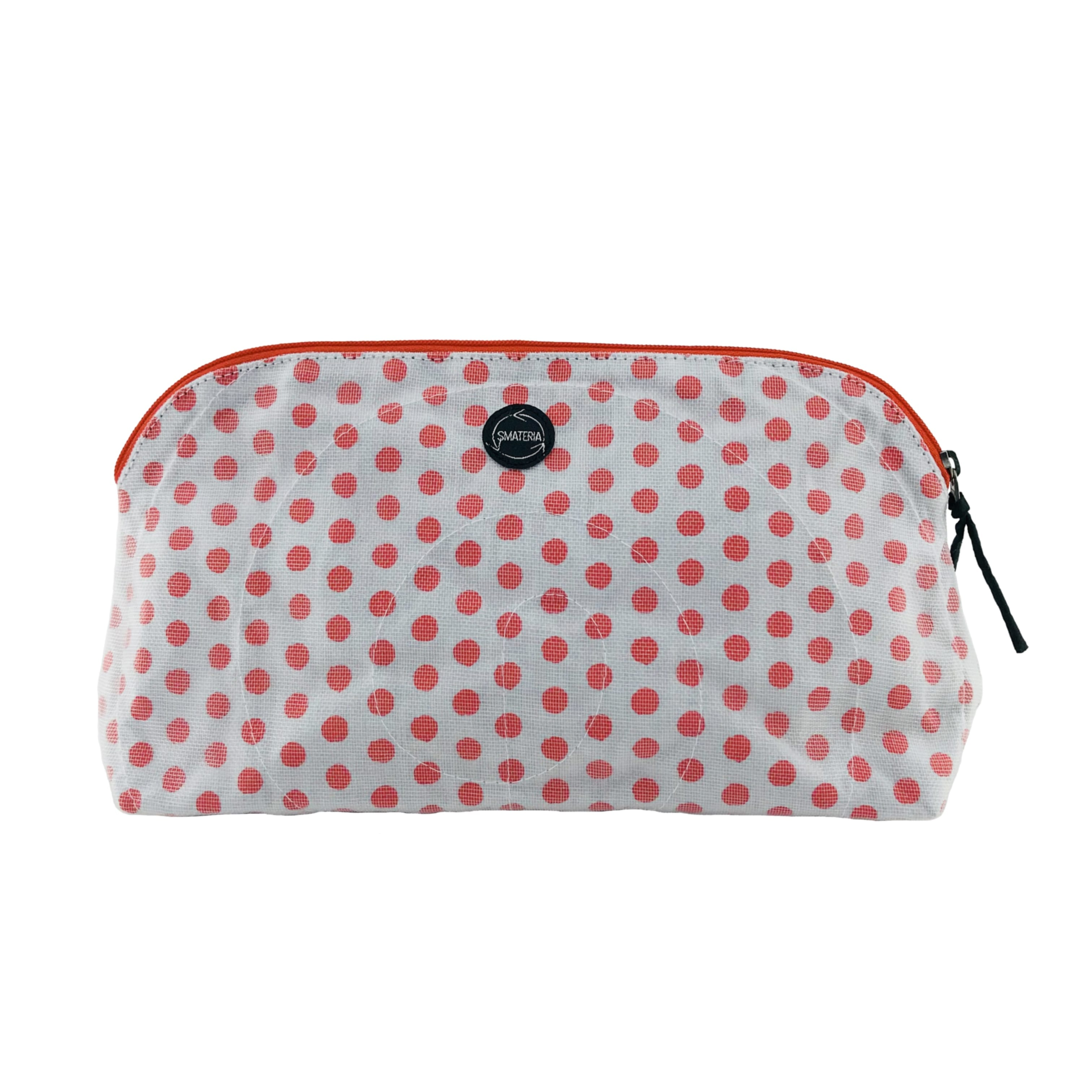 La Trousse de maquillage - Grand - Pois rouges