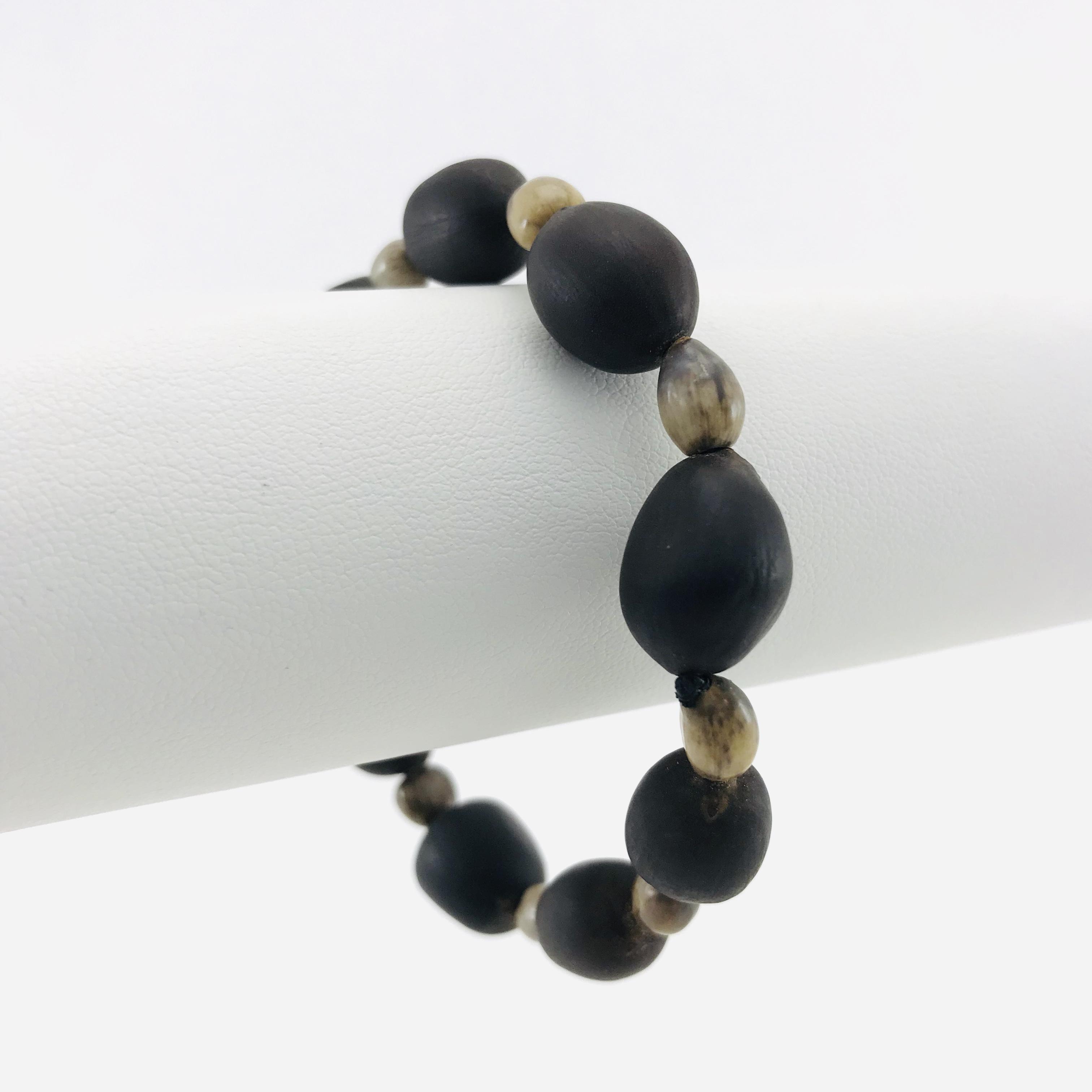Le Bracelet Lotus - Graines naturelles - Brun