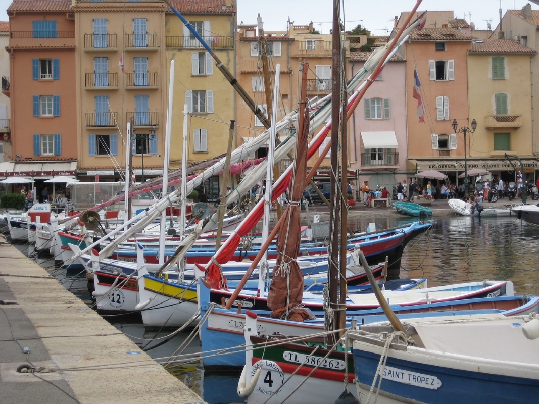 Gamla hamnen i St Tropez