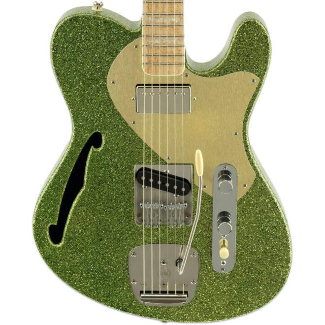 Lime Green Sparkle ESG