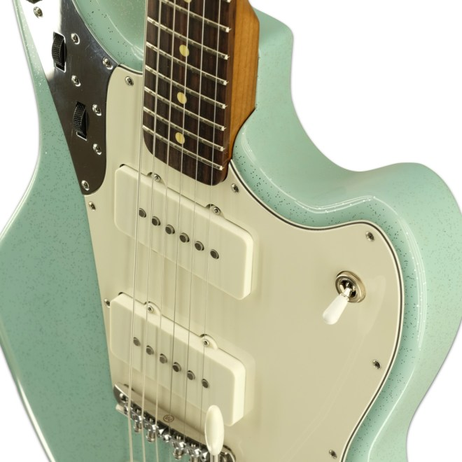 Body Detail, Surf Green Light Sparkle Relevator LS