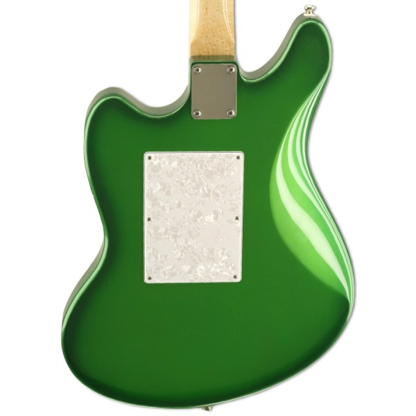 Back Detail, Candy Apple Green Metallic Burst Relevator + Effects