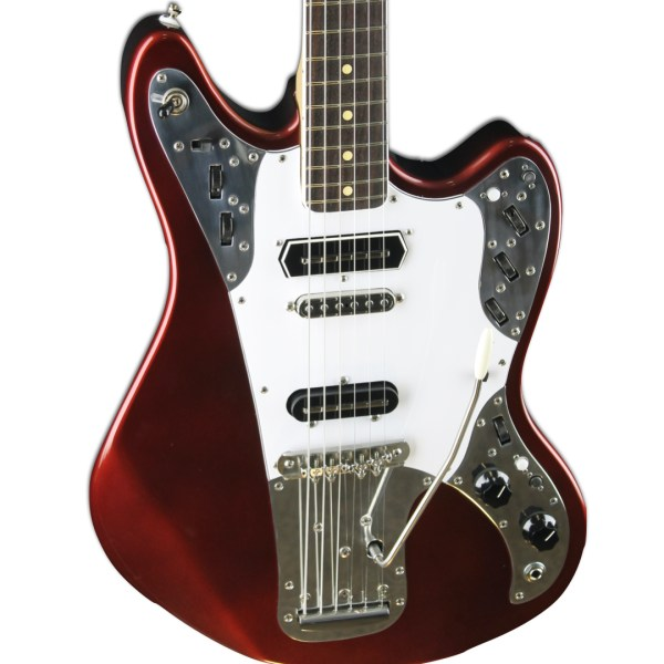 Front Detail, Candy Apple Red Metallic Relevator + Effects