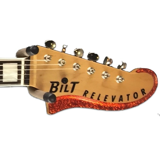 Headstock, Orange Sparkle Relevator + Effects