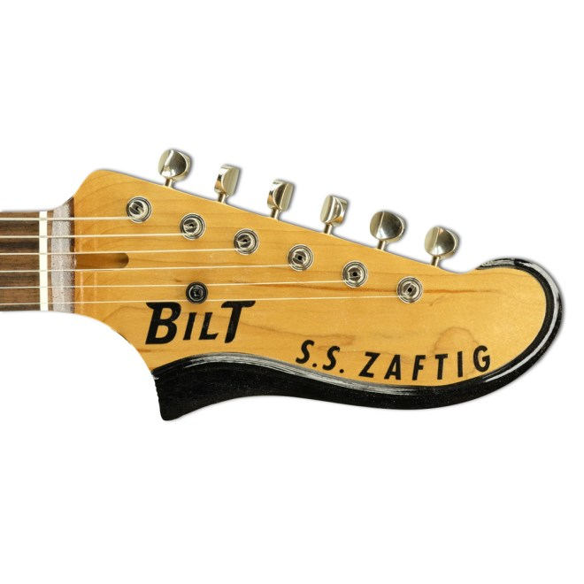 Headstock, Black/Gold Anodized Zaftig