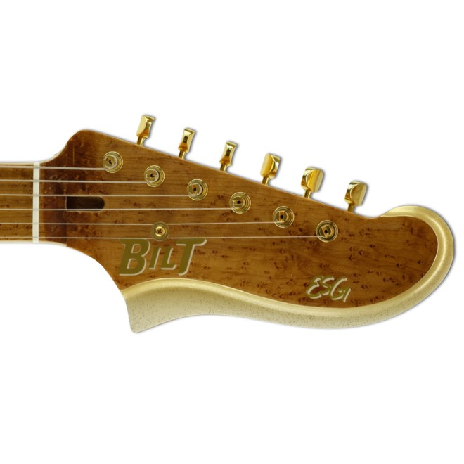 Headstock, Gold Light Sparkle Burst ESG
