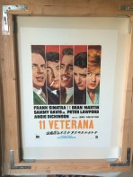 Poster has been mounted on acid-free Japanese Mass paper & cotton canvas.