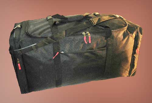 Biltmore Trunk 21 Soft Carry On Duffle Bag Sports Bag Black