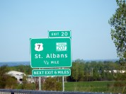 Passing St Albans