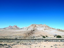On the way to Fish River Canyon