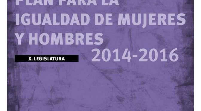 Páginas desdePLAN IGUALDAD LEGISLATURA DEPARTAMENTO EMPLEO Y POLITICAS SOCIALES 2014-2016