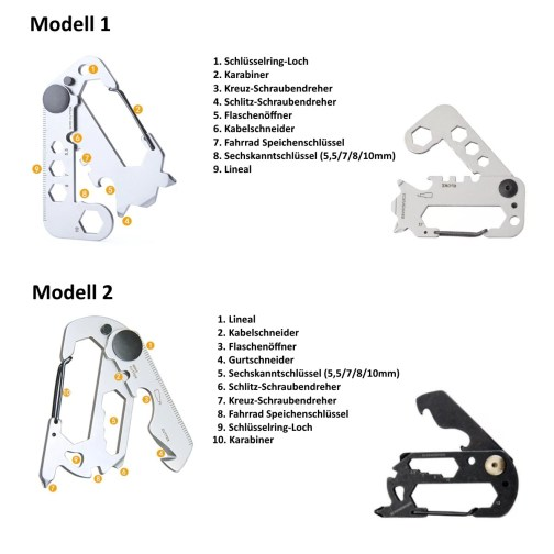 Multitool Schlüsselanhänger_Beschreibung