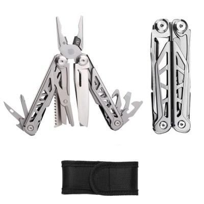 tobilu® 15X1 – Multitool Zange 15 in 1 Multifunktionswerkzeug, Taschenmesser, Multifunktionszange voll Edelstahl