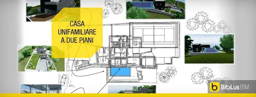 Progettazione e costruzione case e ville di lusso in legno. Ecco Un Progetto Di Casa Unifamiliare A Due Piani Completo Di Dwg Da Scaricare Biblus Bim