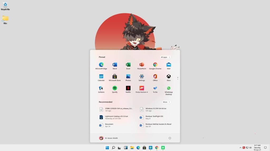 Review Singkat Menggunakan Bocoran Windows 11