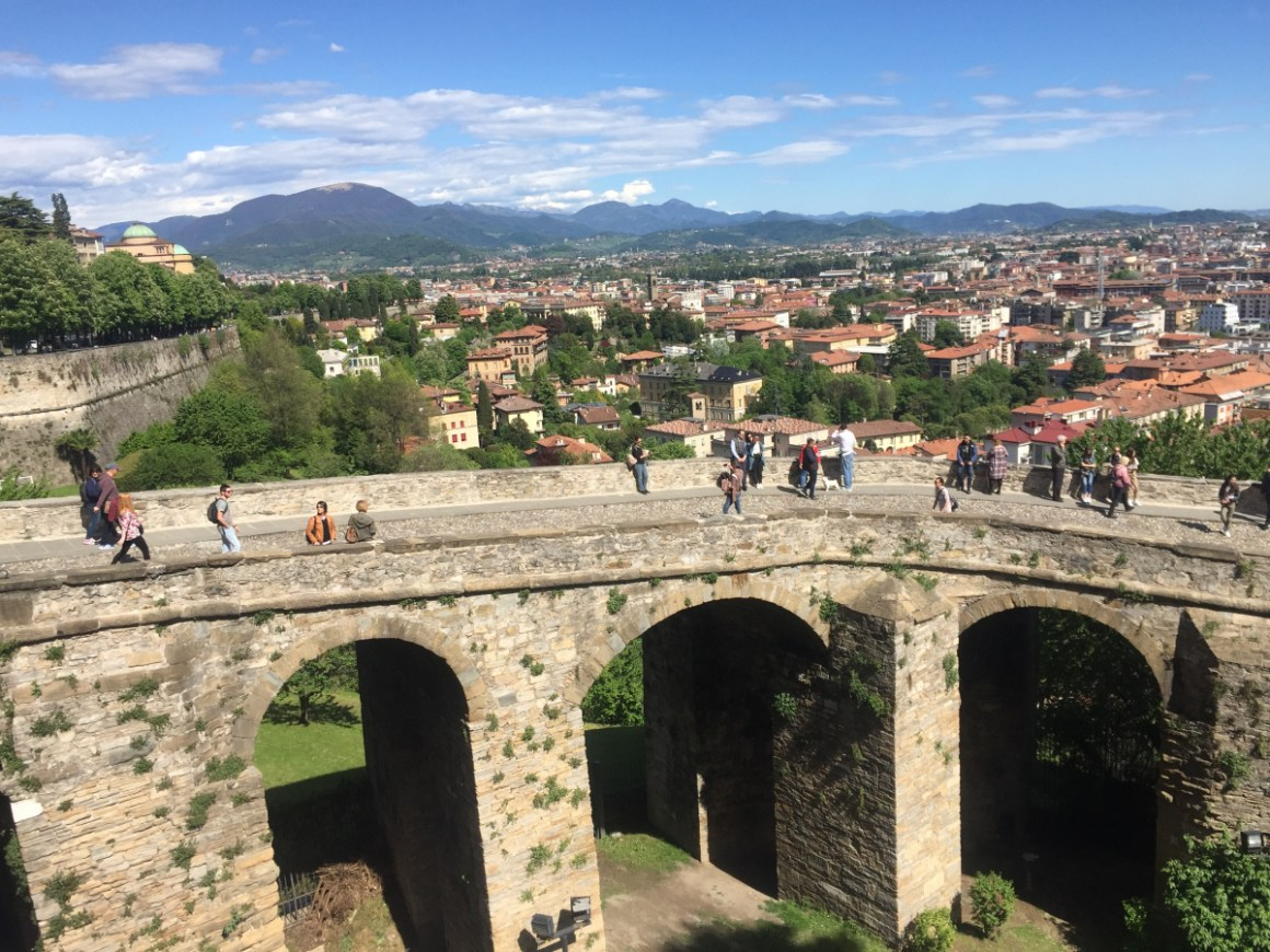 mura Bergamo alta