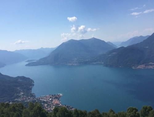 Camaggiore vista sul lago di Como