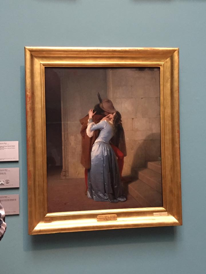Pinacoteca di Brera con bambini