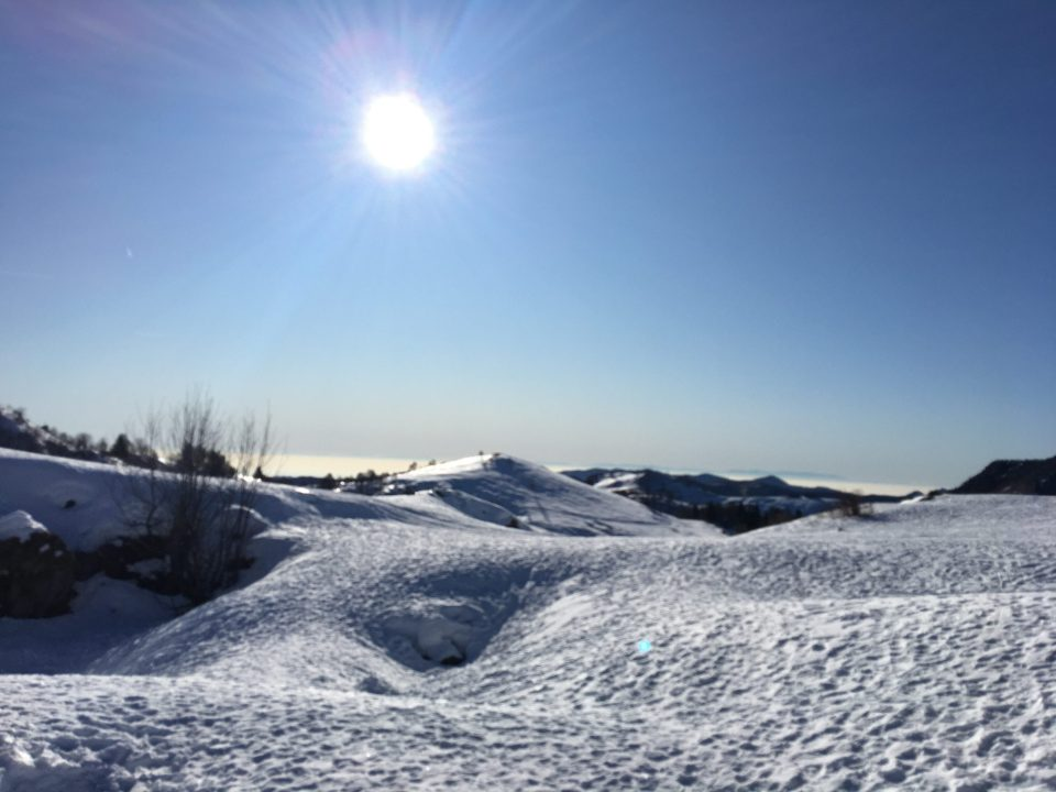 Piani di Artavaggio in inverno
