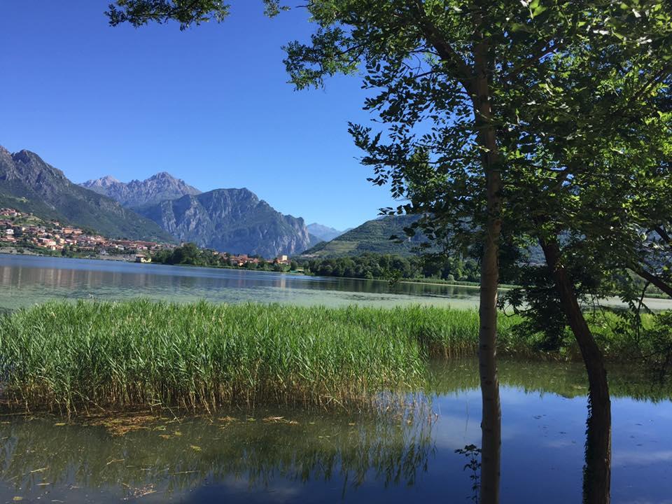 Ciclopedonale lago Oggiono e Annone