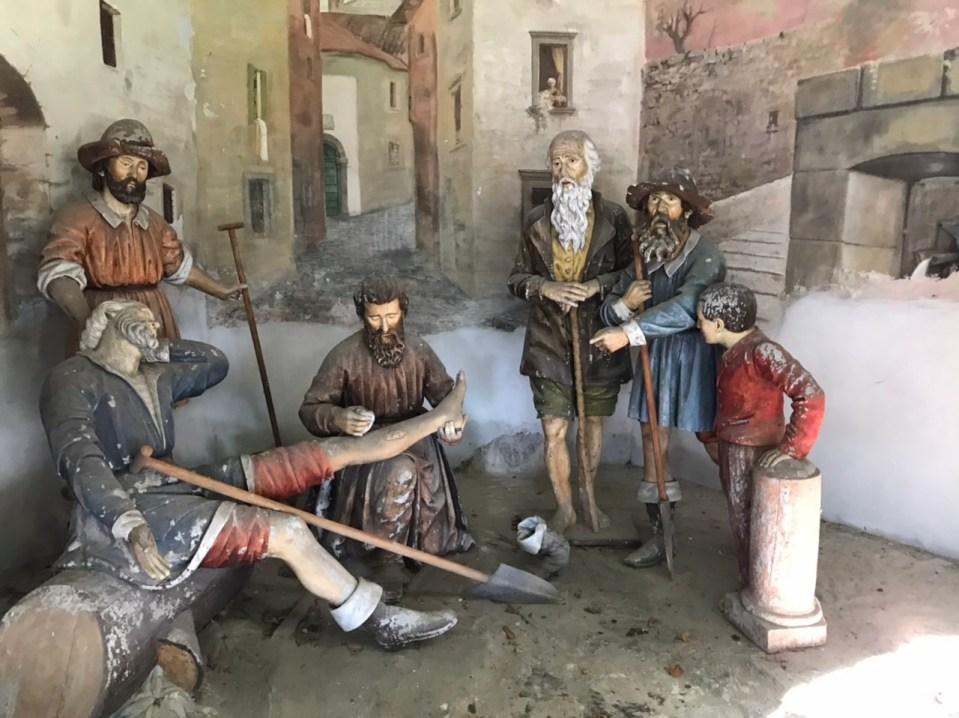 Le Cappellette di San Girolamo Emiliani a Somasca