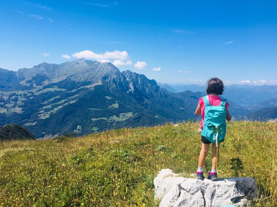 Trekking per bambini in Valsassina