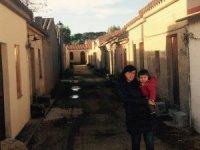 con mamma a San Salvatore
