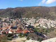 Il paese visto dal Castello di Burgos